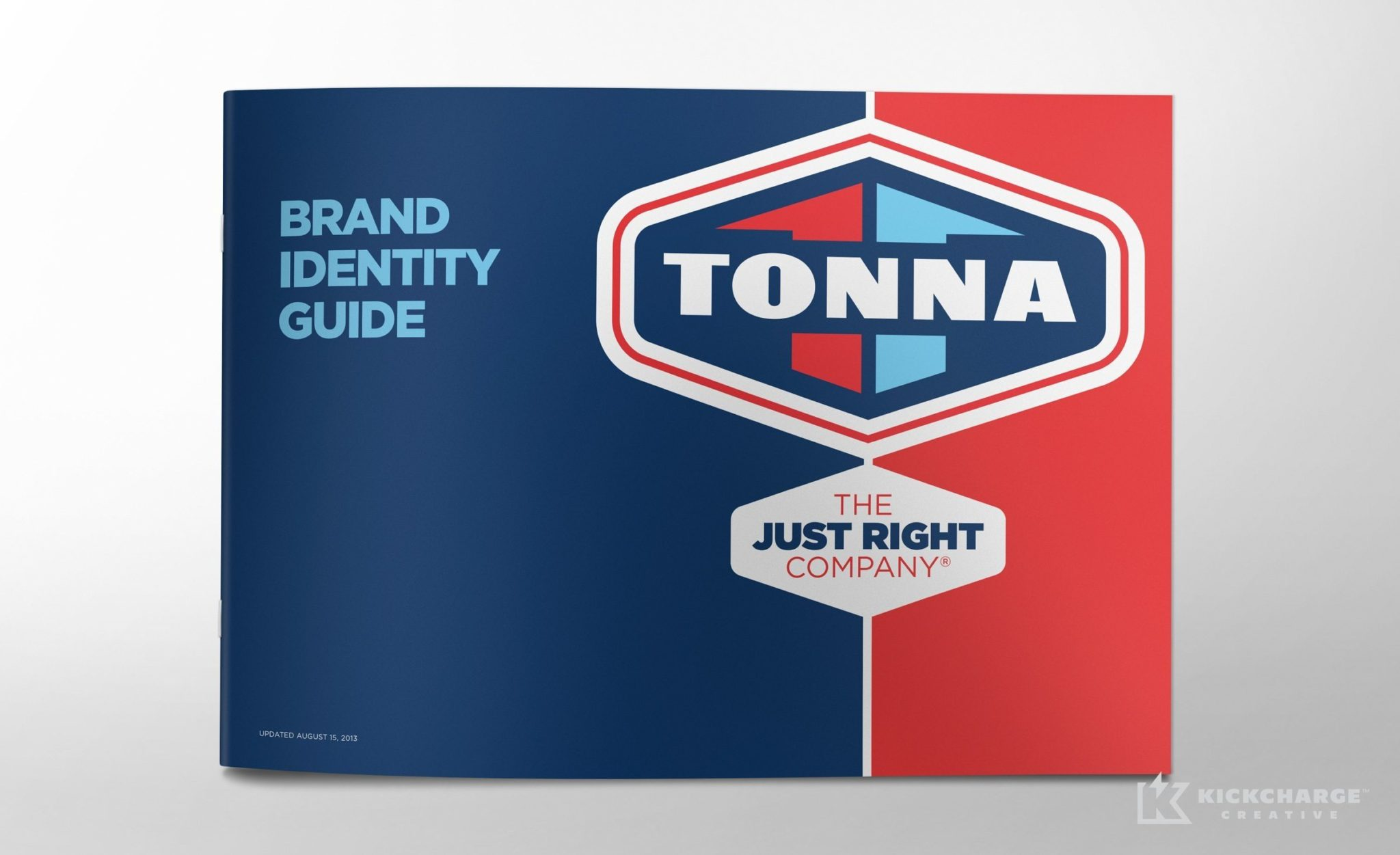 Brand identity guide for Tonna Mechanical.