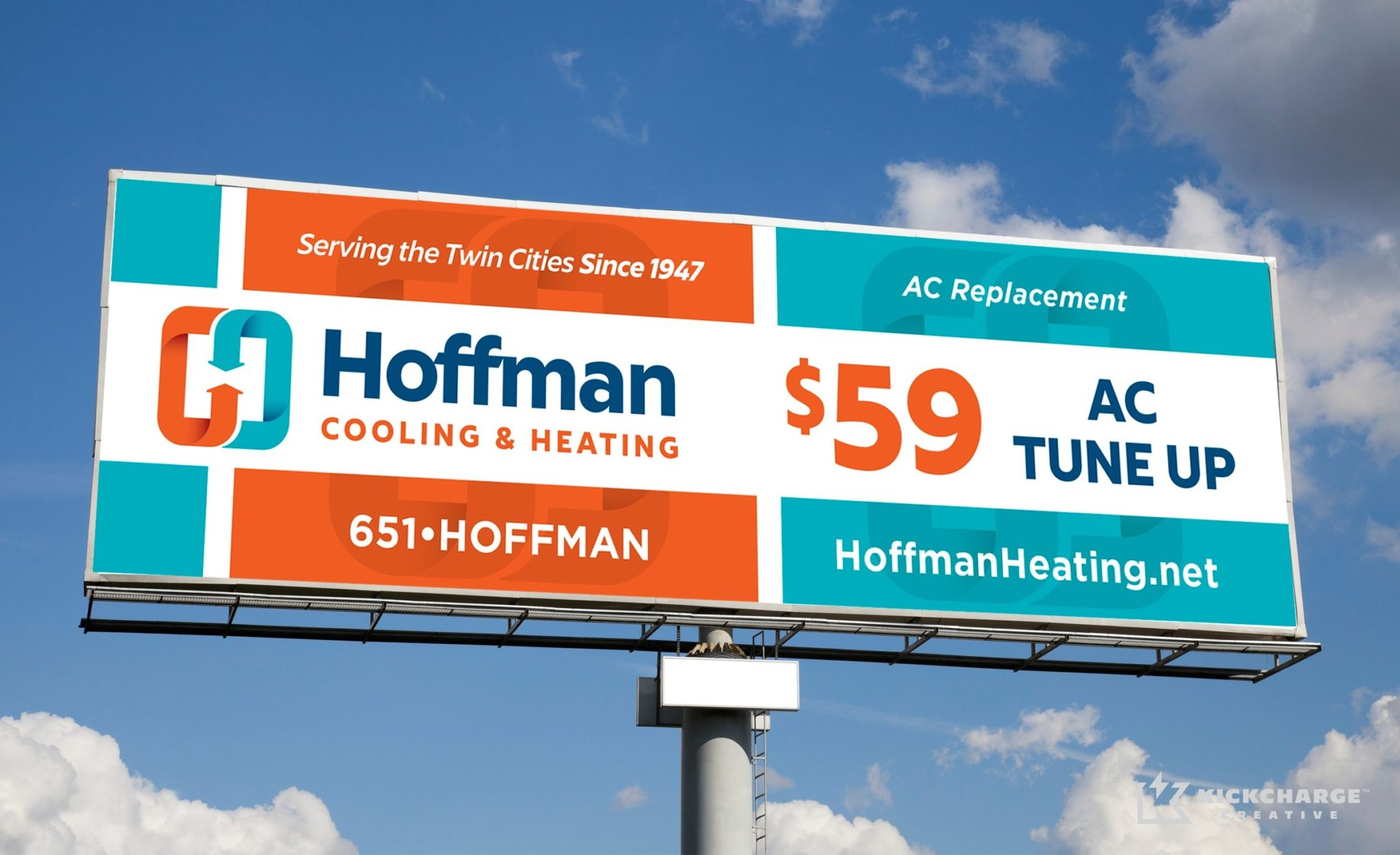 Billboard design for this HVAC contractor in Minnesota.