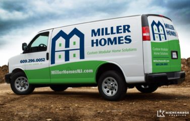 After the branding was complete, we designed this simple, yet effective layout for this homebuilder in Egg Harbor, NJ.