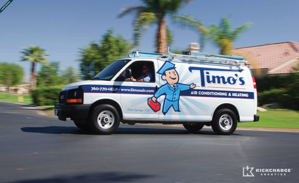 Vehicle wrap design for Timo