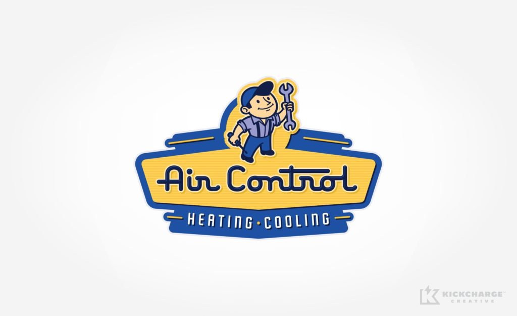 Logo design for HVAC contractor located in Springdale, AR.