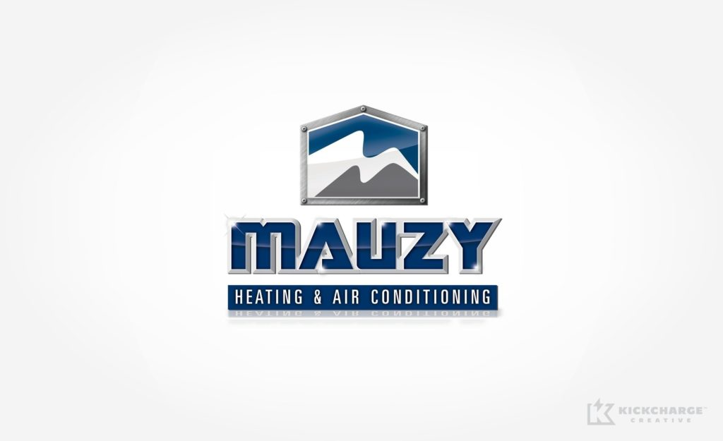 Logo design for HVAC company in San Diego, CA.