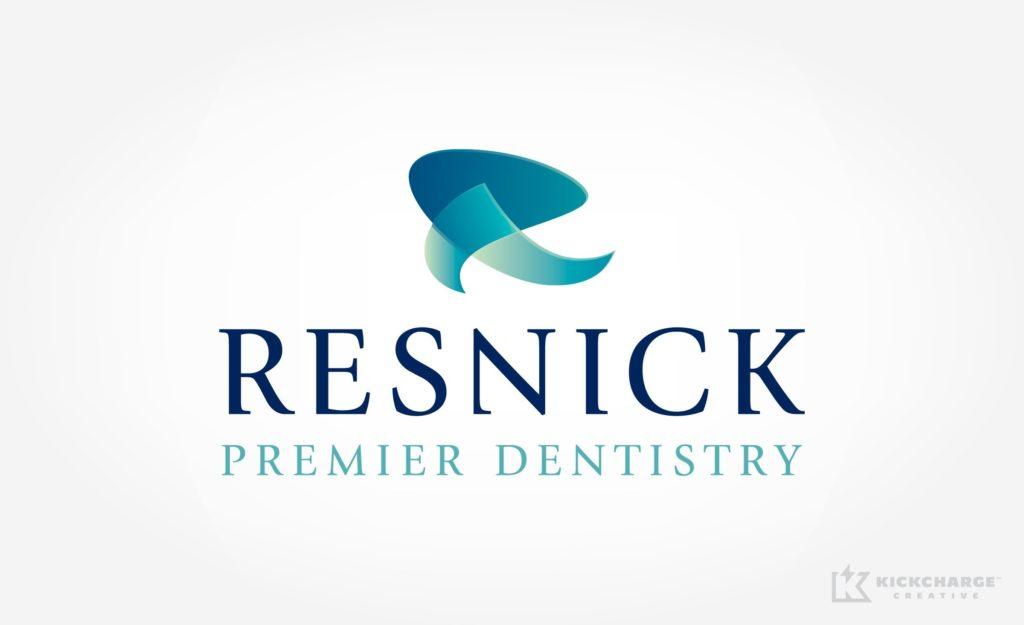 Logo design and brand development for upscale dental practice in Franklin Lakes, NJ.