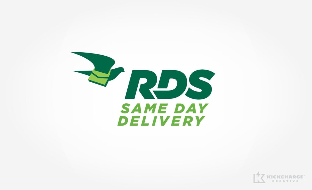 Logo design for RDS Same Day Delivery, based in New York City.