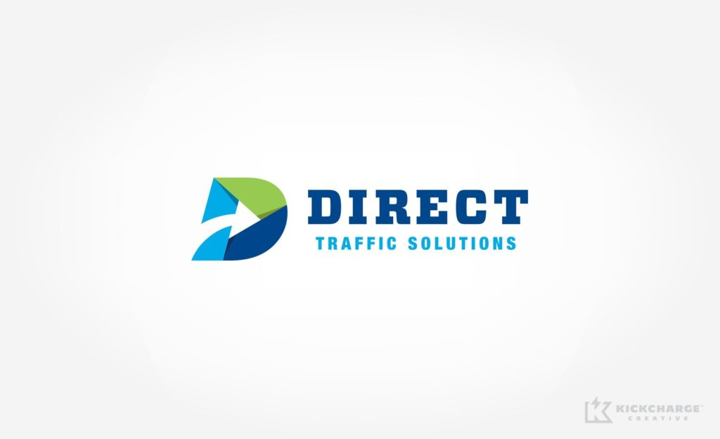 Logo design for Direct Traffic Solutions, based in Bristol, PA.