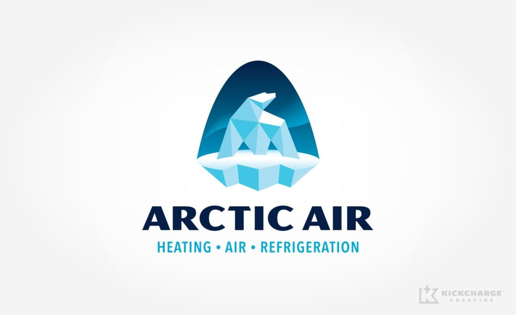 arctic air logo design
