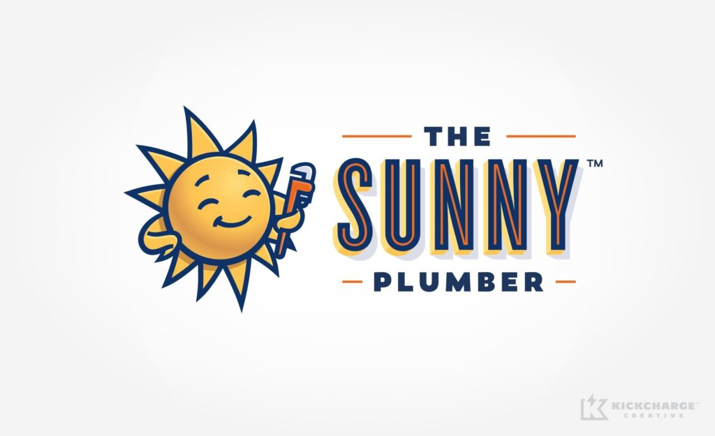 HVAC and plumbing Logo design and branding for this plumbing contractor in Arizona.