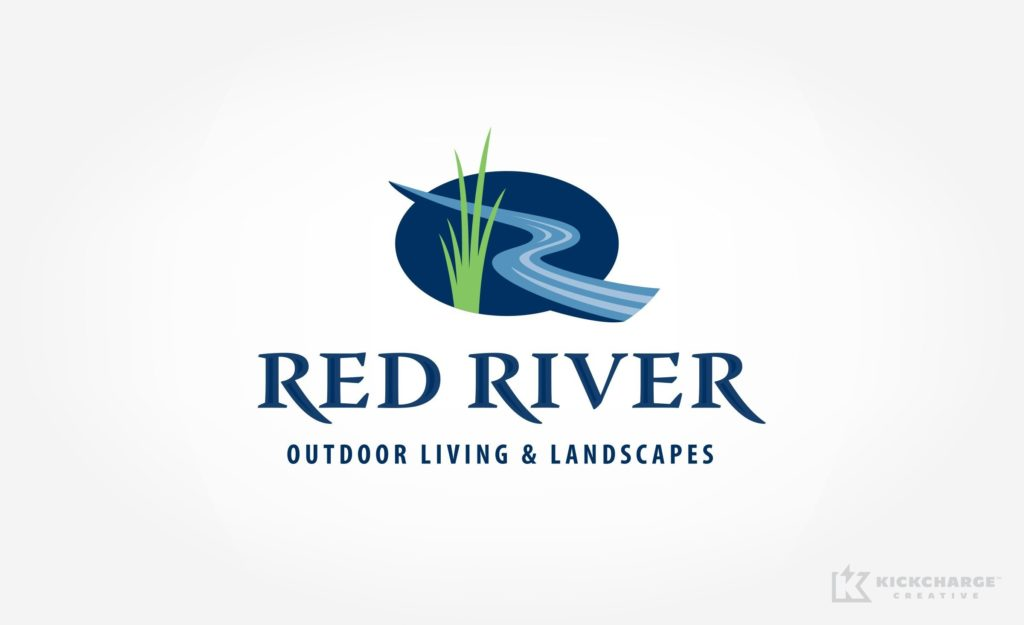 Logo for a landscape company in Paris, TX.