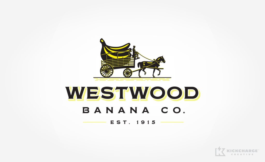 Logo for a wholesale banana distributor in New Jersey.