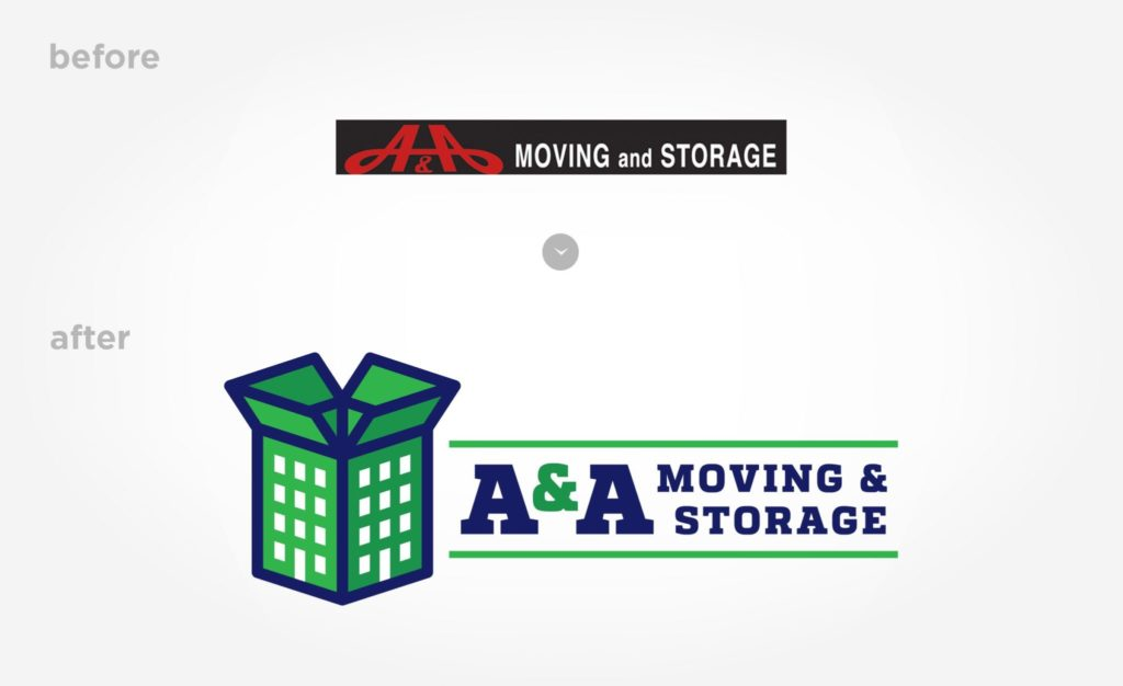 Before & after A&A Moving & Storage
