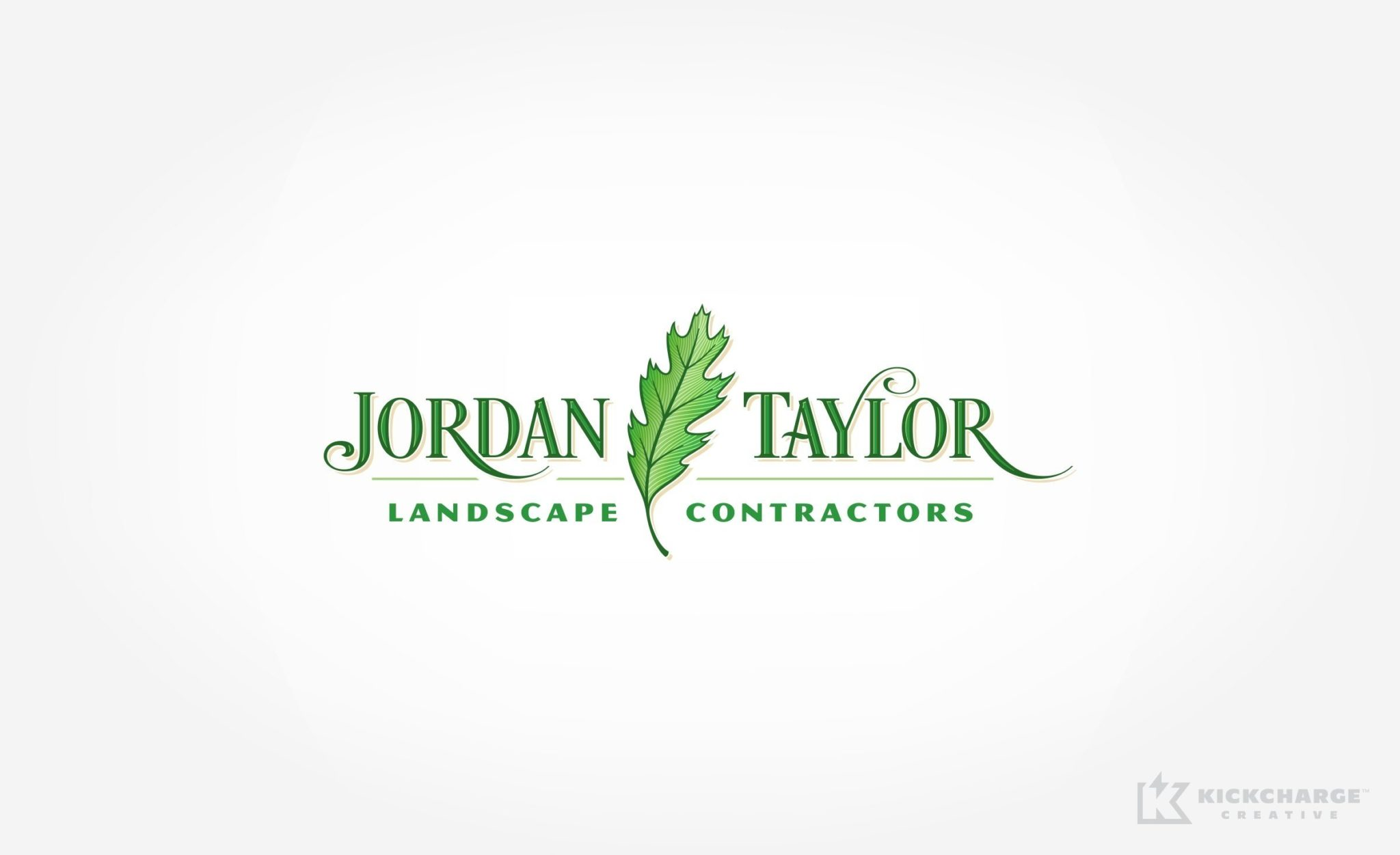 Logo design for Jordan Taylor Landscape Contractors in NJ.