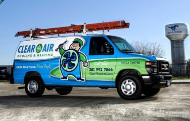award winning truck wraps, best truck wraps, hvac truck wraps