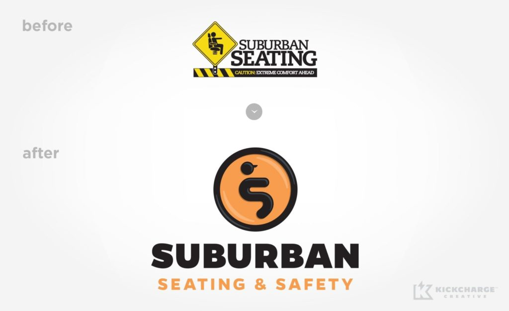 Before & after Suburban Seating & Safety