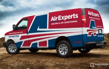 2013 Winner for best fleet branding for an HVAC business: HVACR Magazine's Tops in Trucks Contest