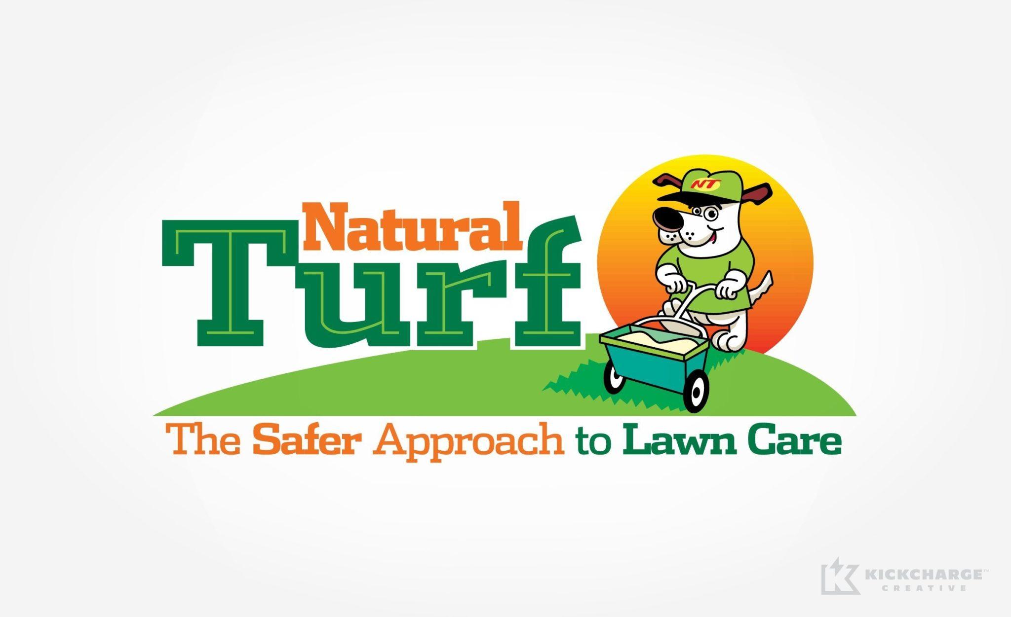 Logo design for Natural Turf.