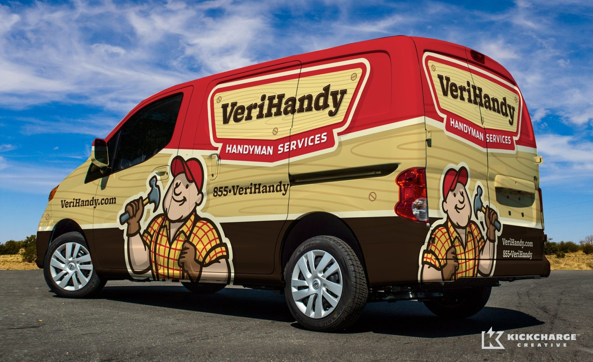 verihandy handyman services kickcharge creative