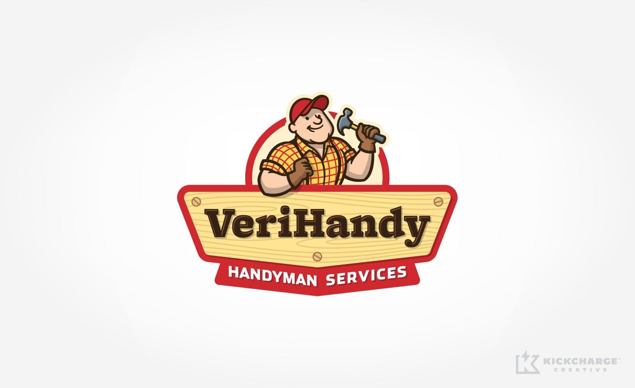 Logo design for a handyman service provider located in Saddle Brook, NJ