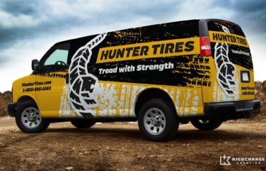 Vehicle design for a tire company in California.