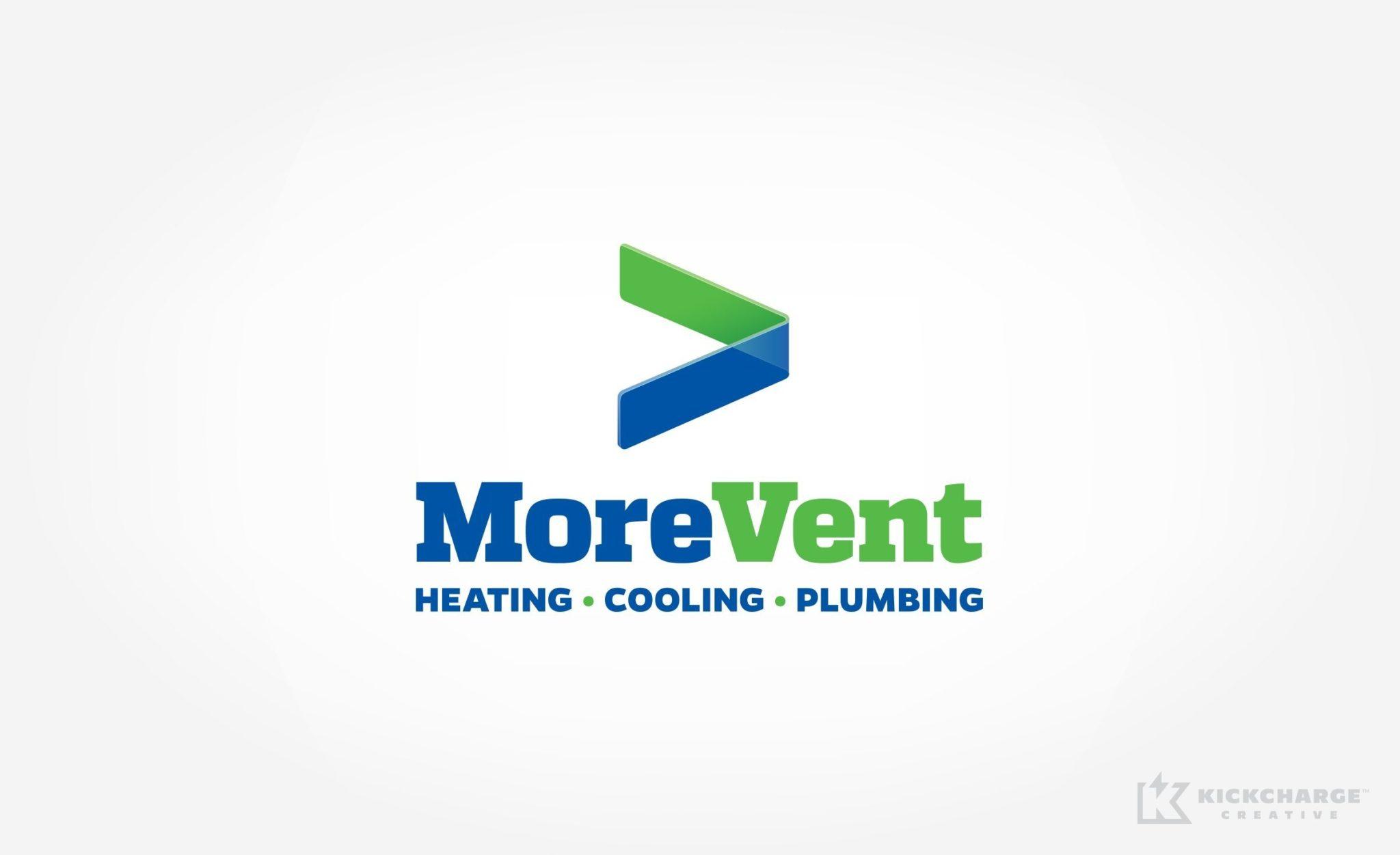 Logo design for MoreVent.