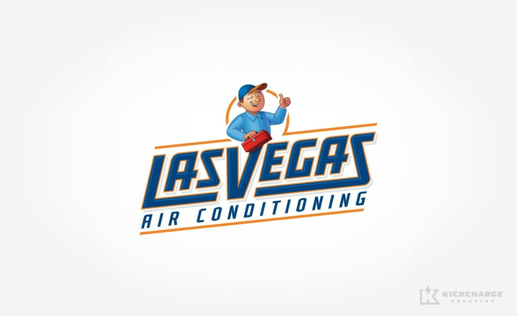 Logo for a HVAC company in Las Vegas, NV.