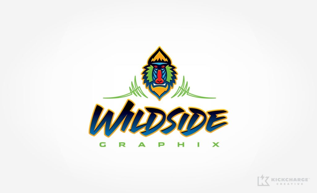 Logo design for a graphic design and sign company located in Kansas.