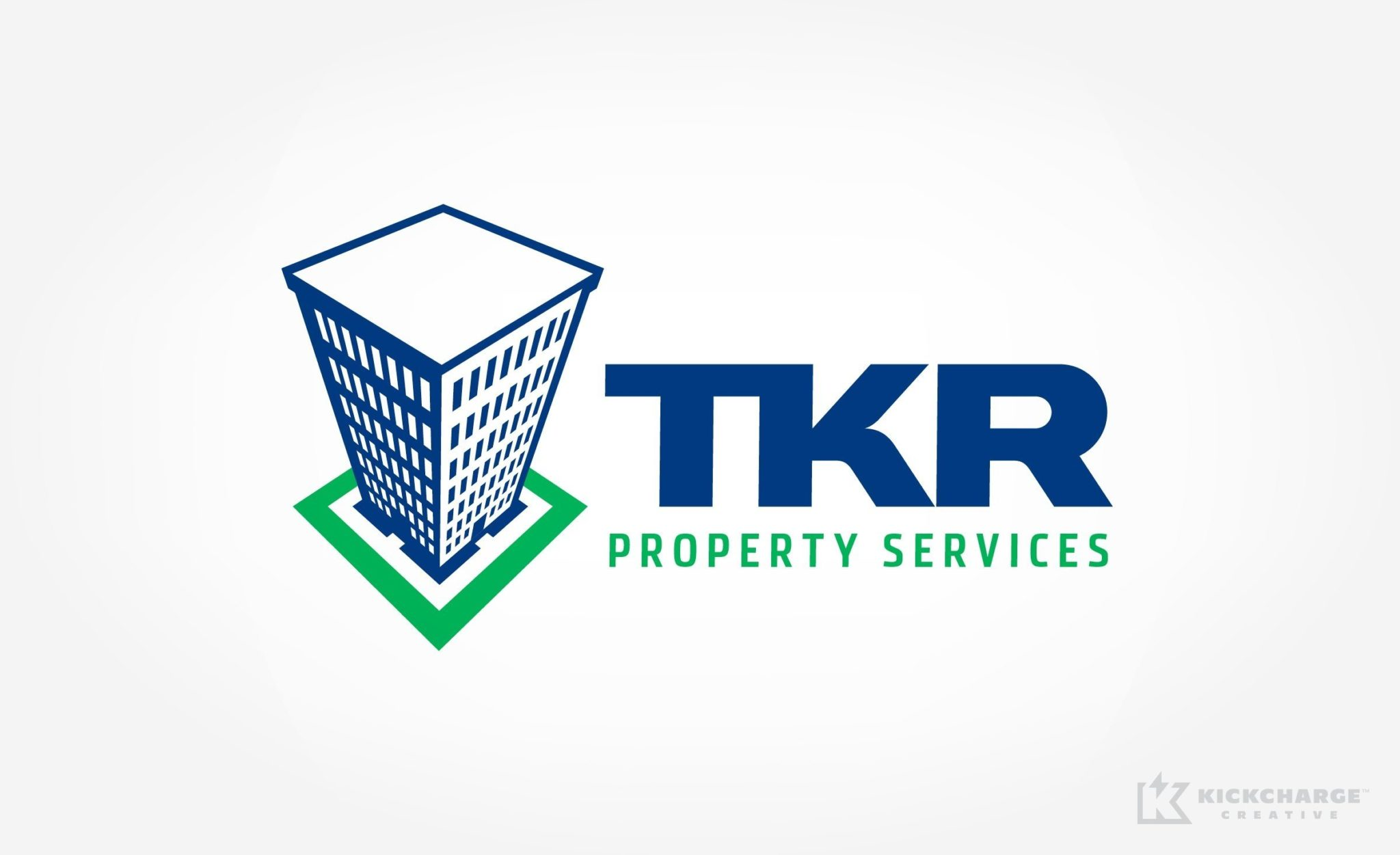 Logo design and corporate identity development for a property management firm in Brooklyn, NY.