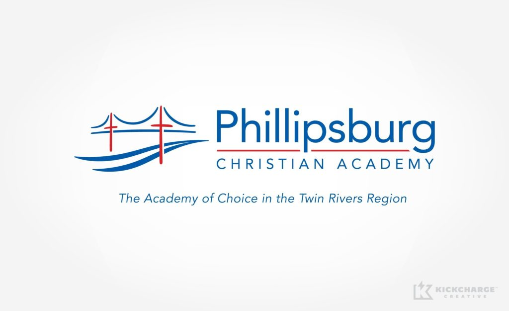 Logo design for the prestigious Christian academy in Phillipsburg New Jersey.
