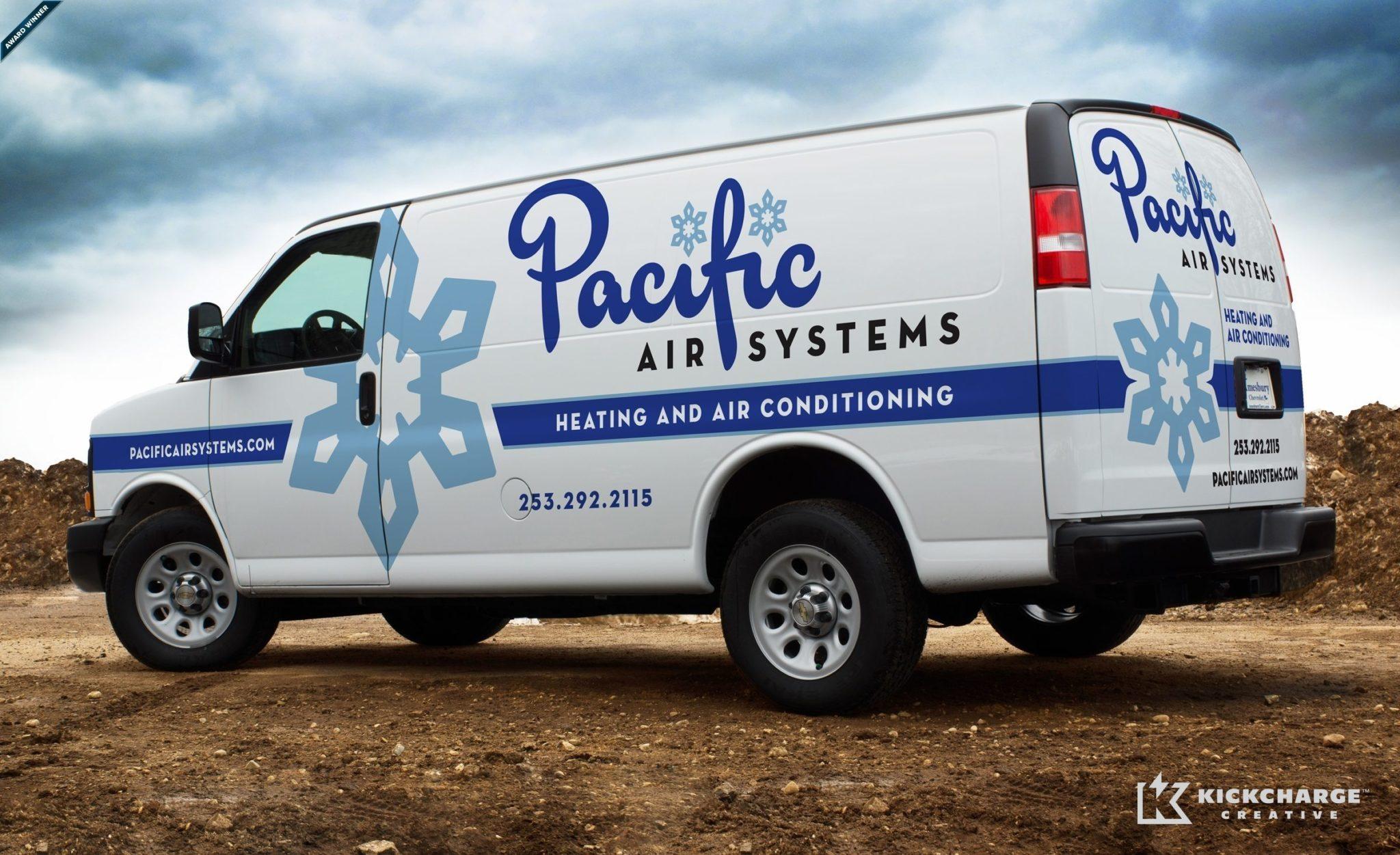 2013 Winner for best fleet branding for an HVAC business: HVACR Magazine's Tops in Trucks Contest.