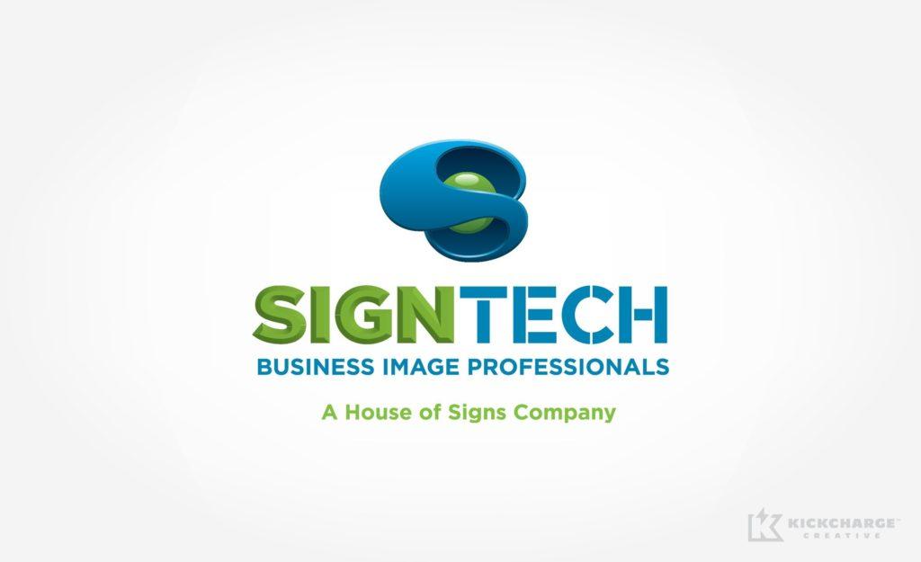 Logo design for a sign company in Colorado.