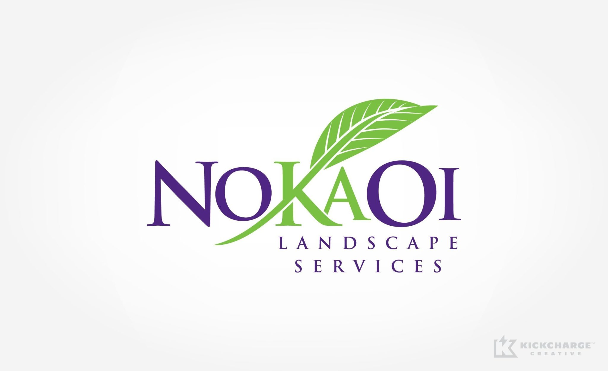 Logo design for a landscape company in Hawaii.