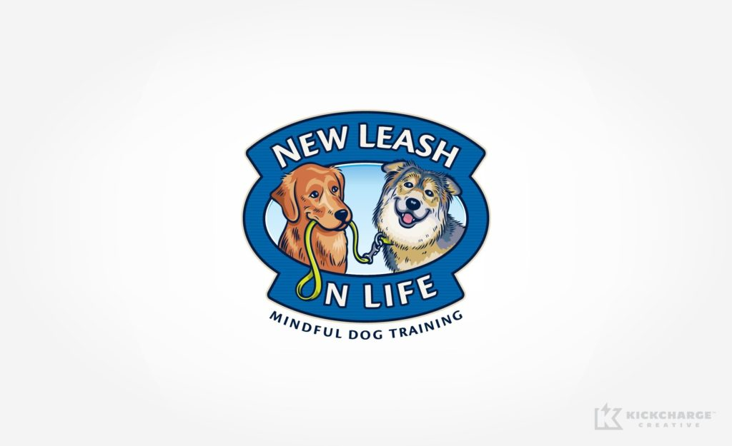 Logo design for a company focused on training dogs in NJ.