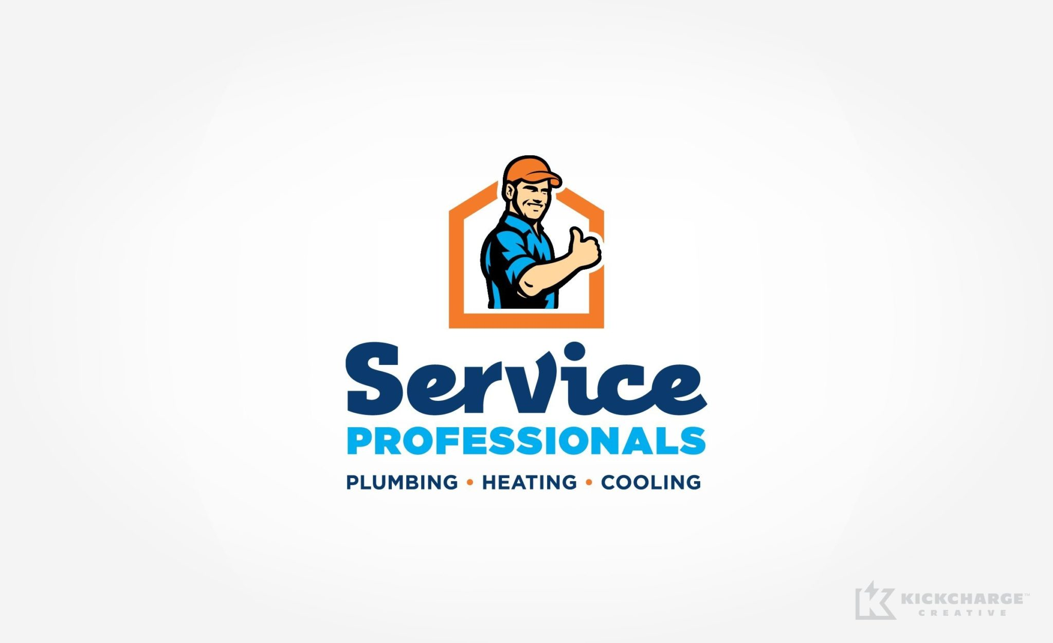 Logo design for an HVAC and plumbing company located in Union, NJ.