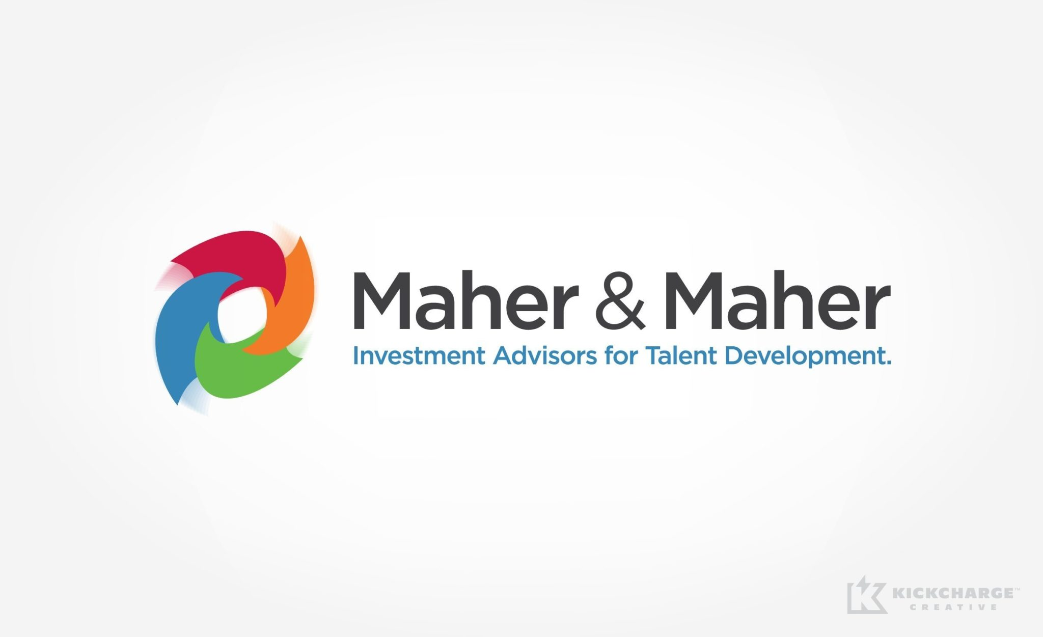 A corporate brand we developed for Maher & Maher, a NJ based business consulting firm.