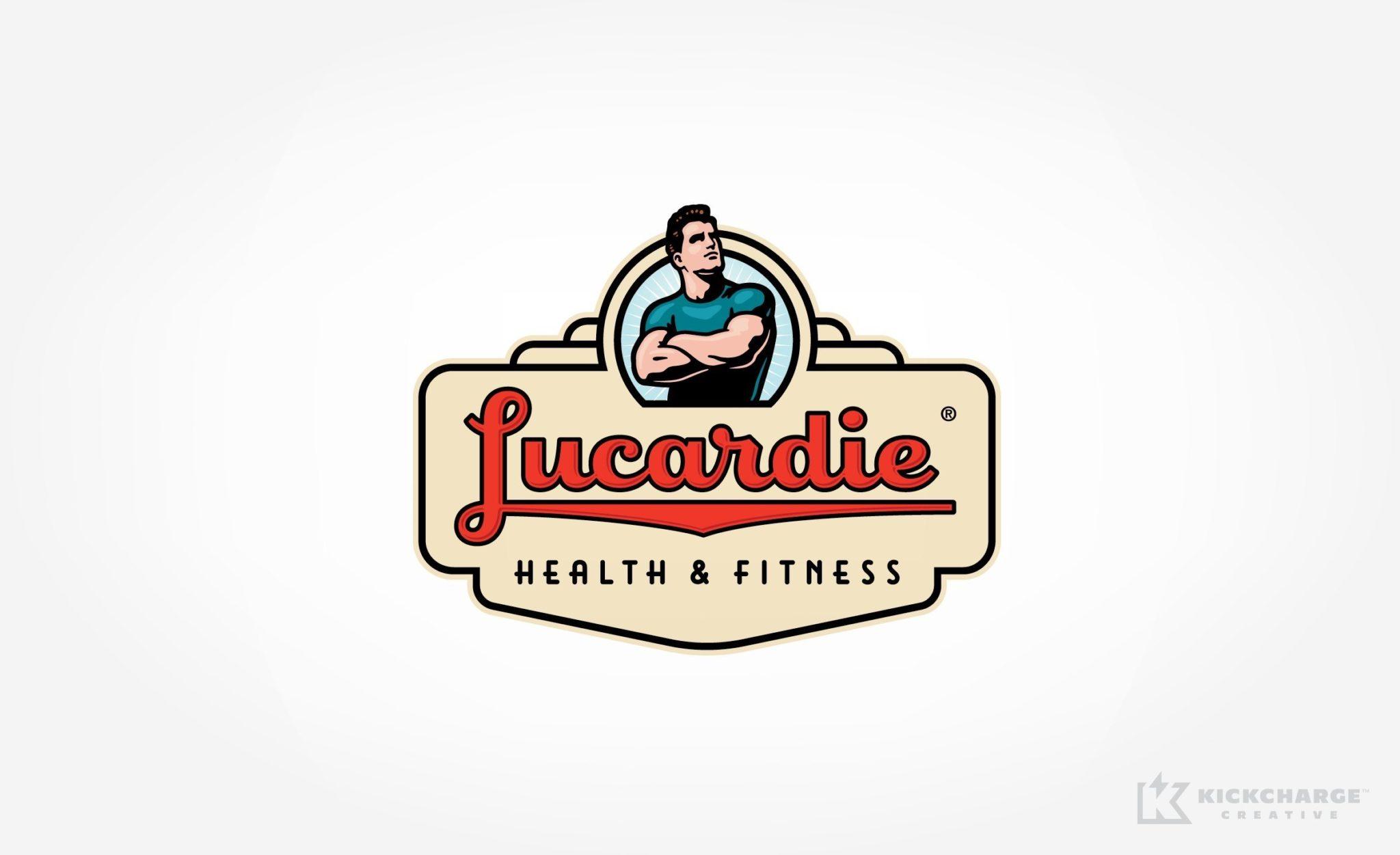 Logo design for Lucardie Health & Fitness.