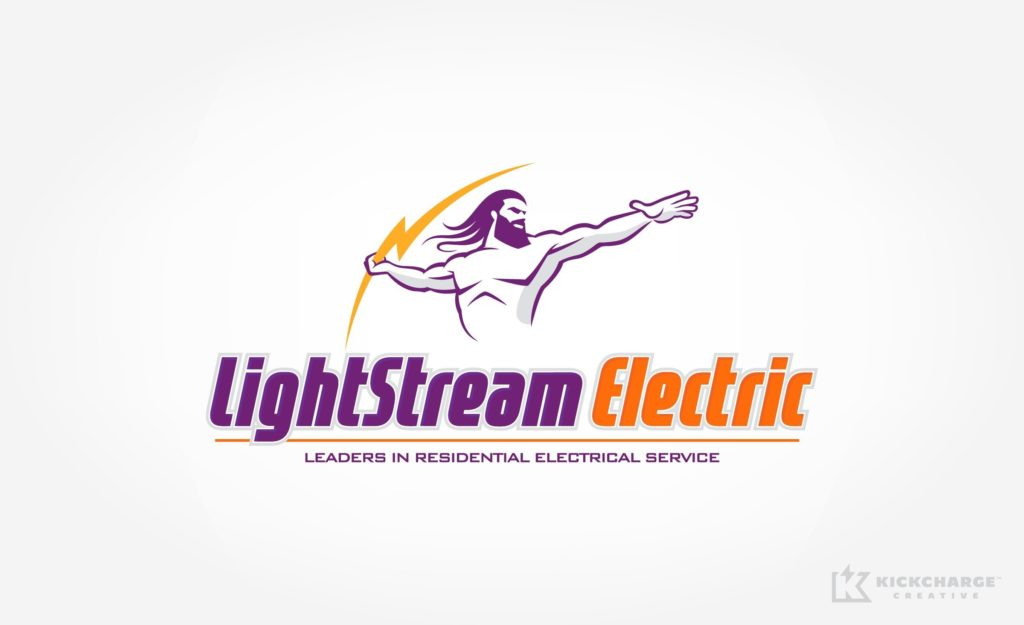 Logo design for electricians in Pompton Lakes, NJ.