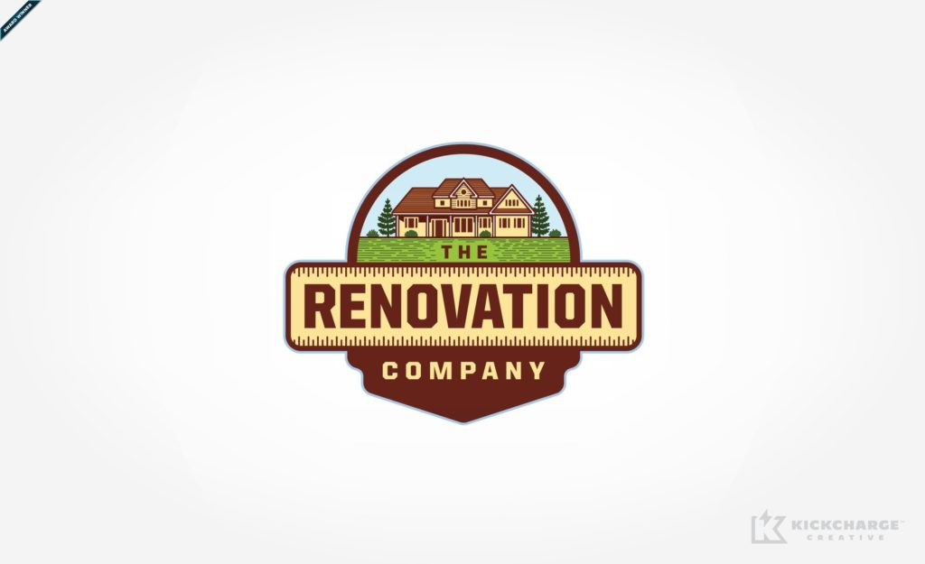 Logo design for a home remodeling company in Saddle Brook, NJ.