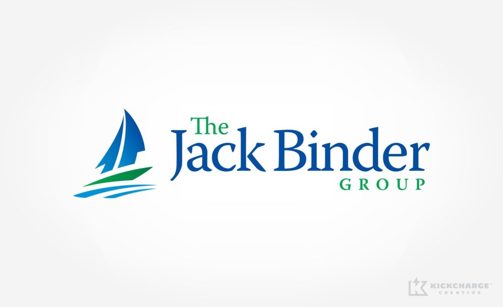 Logo for a real estate company near the New Jersey shore.