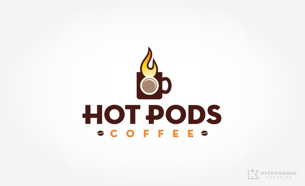 Logo design for a coffee shop in Milford, NJ.