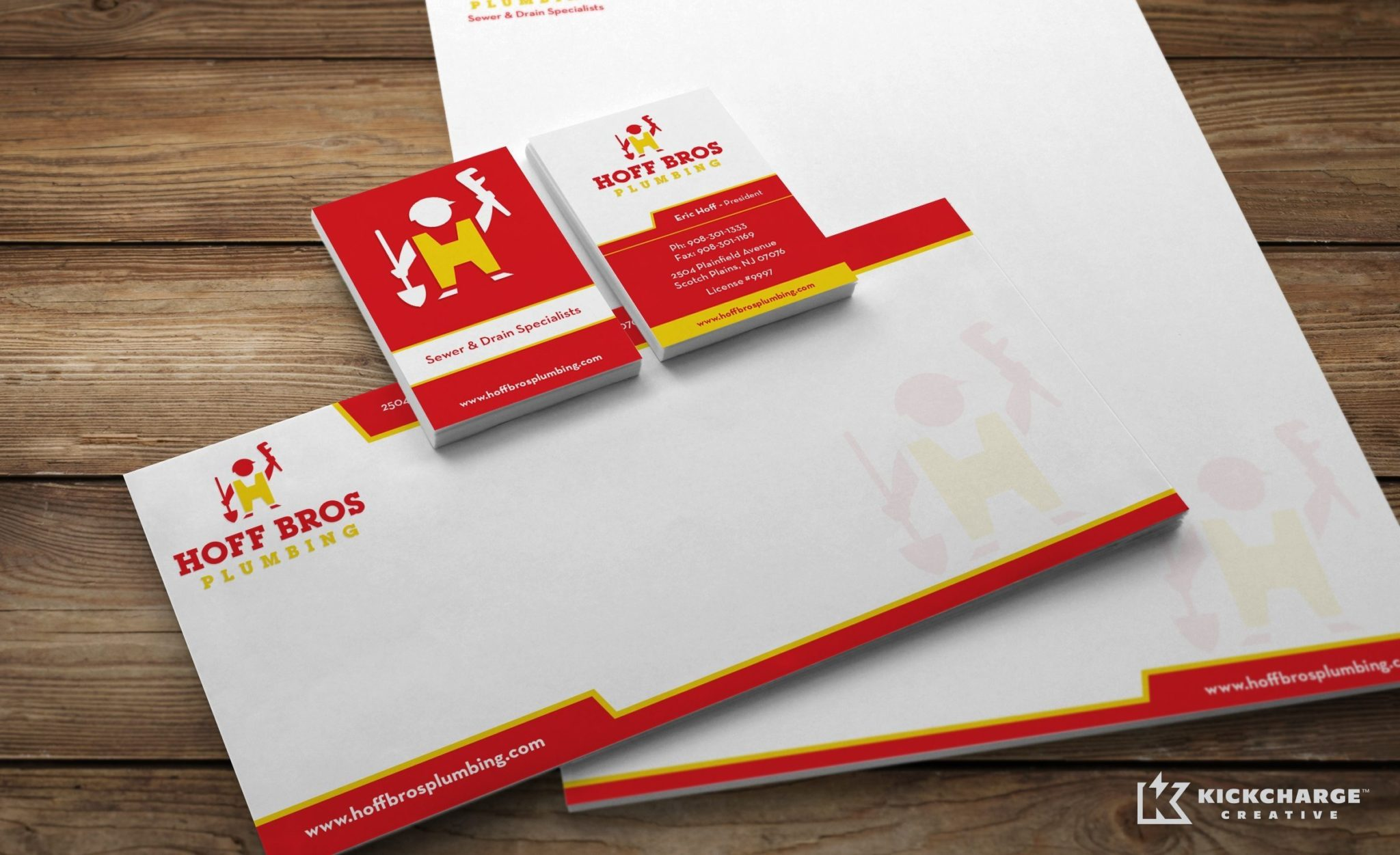 Stationery design for a Trenchless repair and installation specialist company.