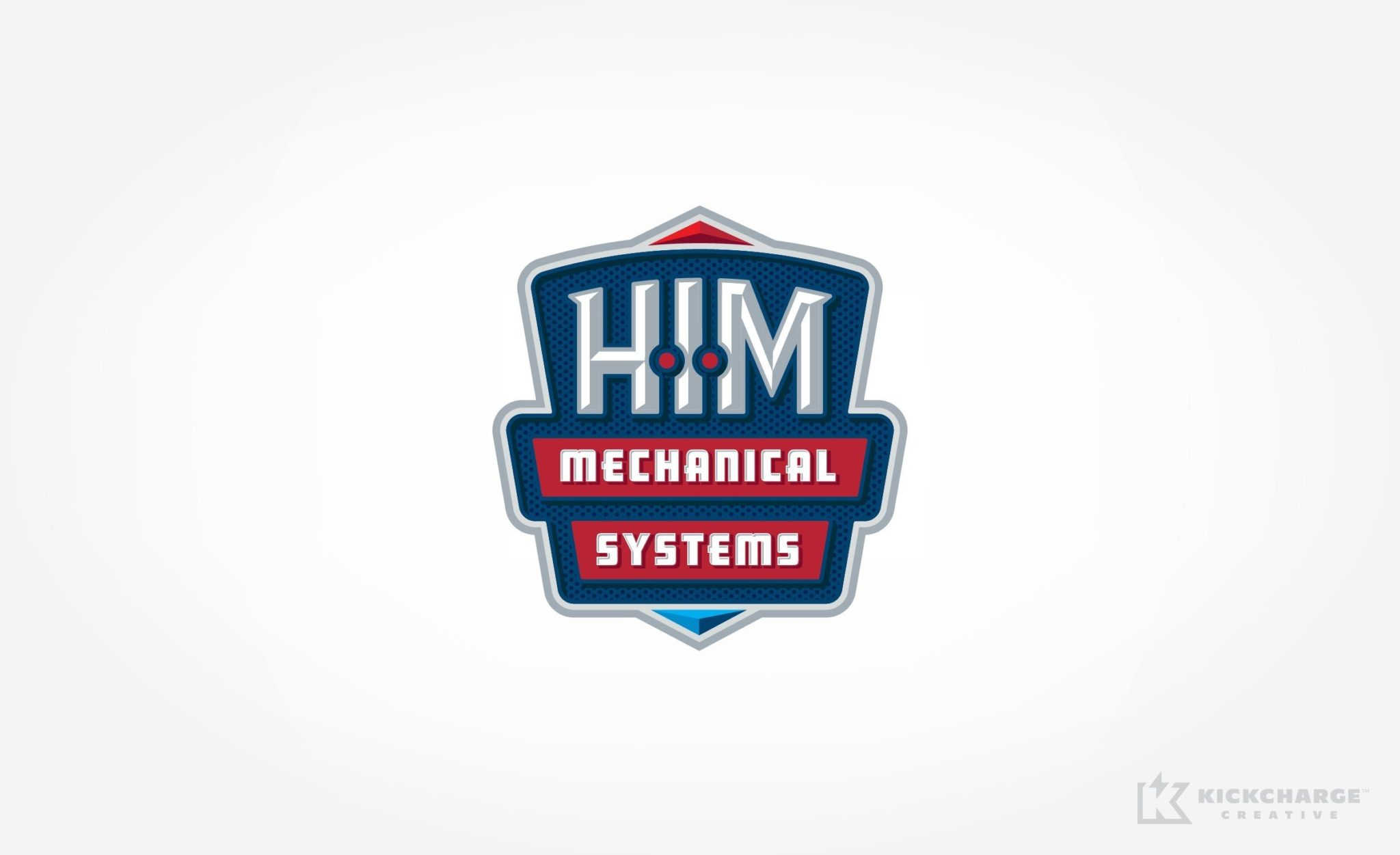 Logo design for an HVAC contractor located in Bridgewater, MA.