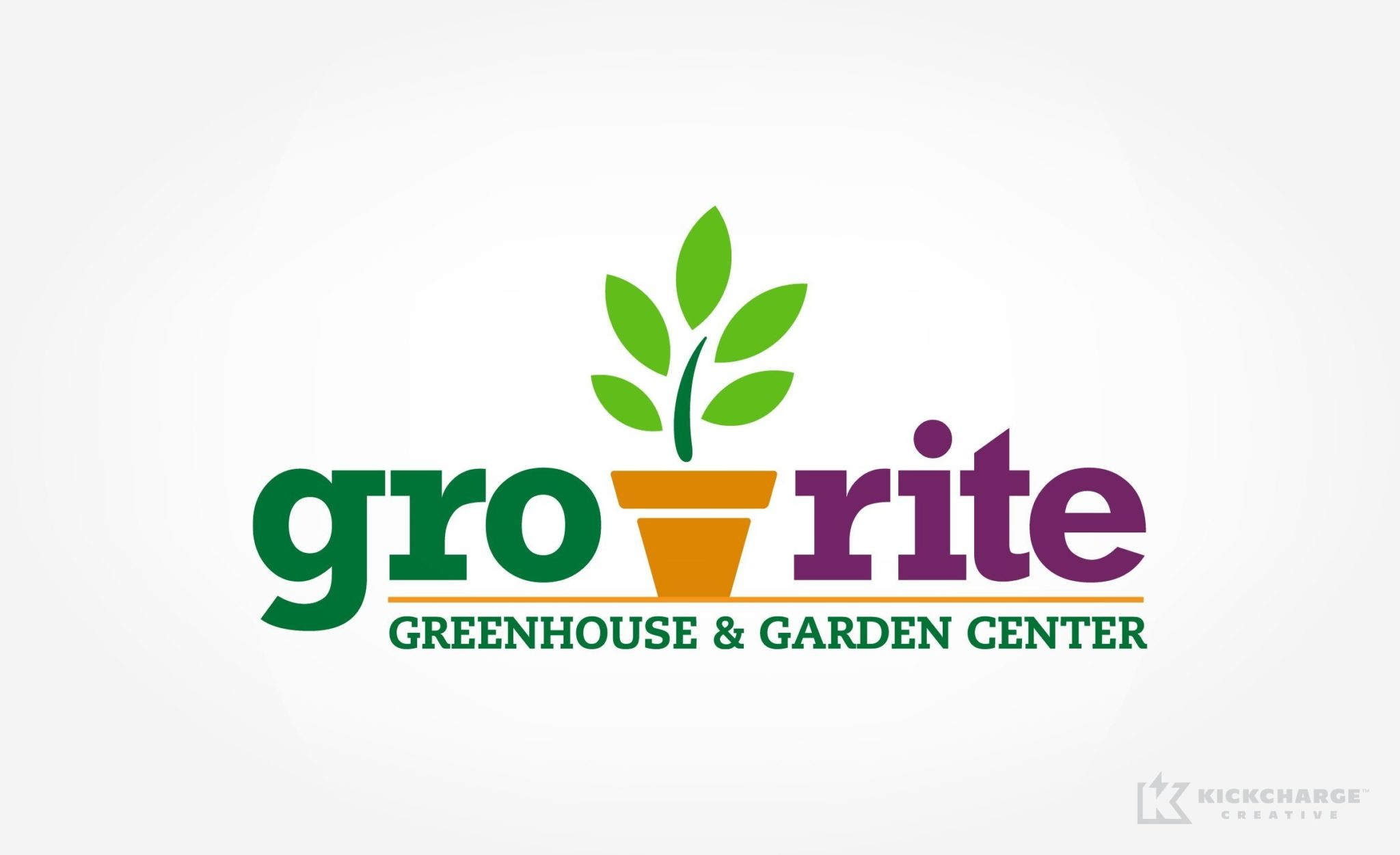 Logo and web design for a New Jersey home and garden center.