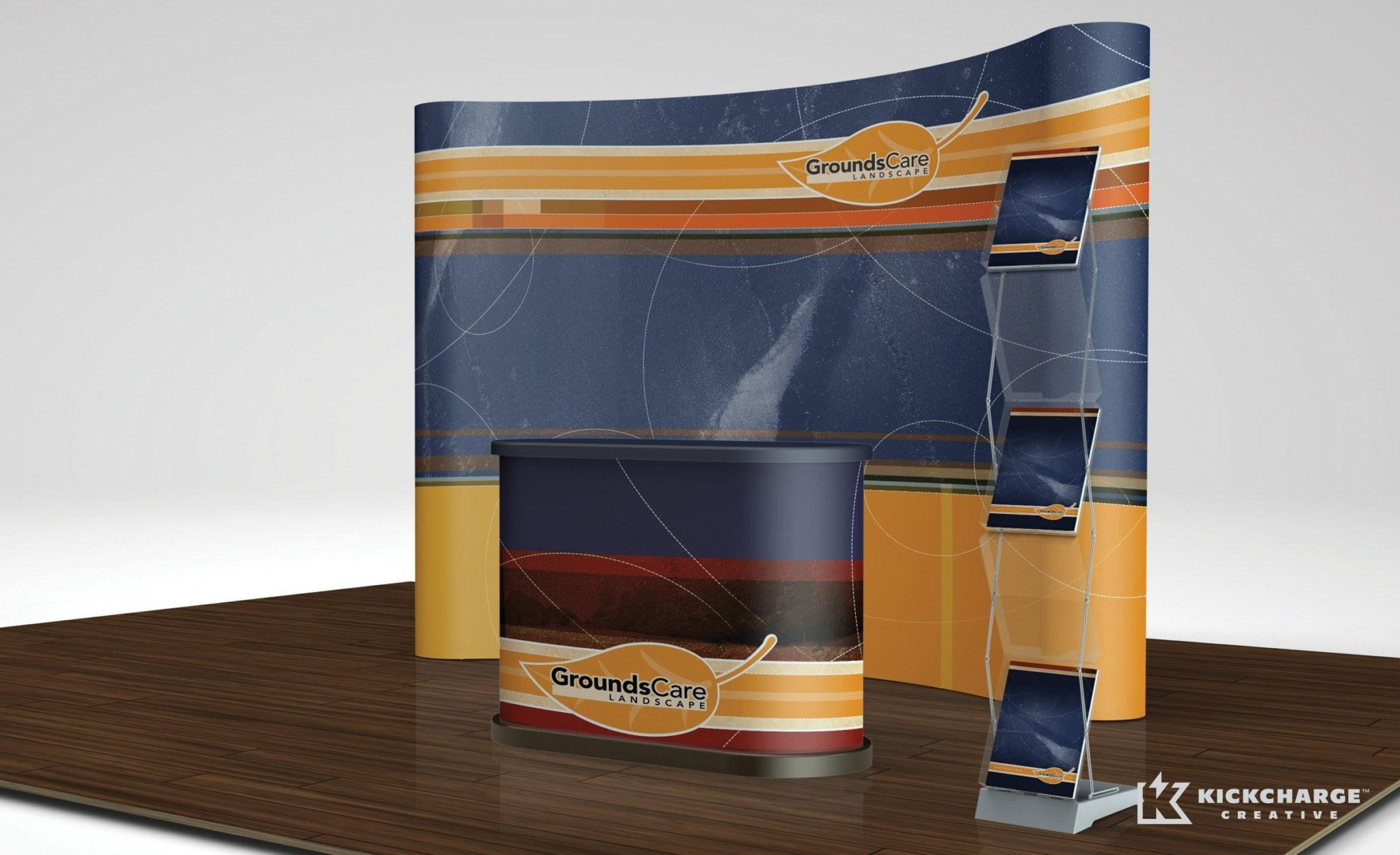 Booth Design for GroundsCare Landscape.