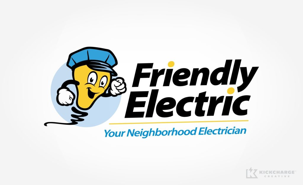 Logo design for an electric repair store from East Brunswick, NJ.