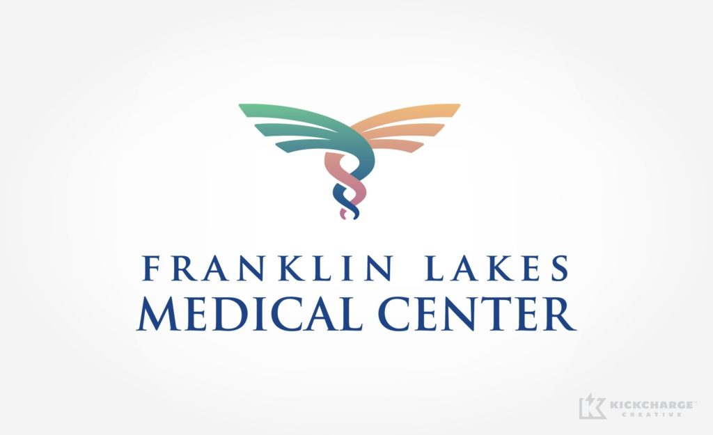 New logo design and development for a medical center in Franklin Lakes, NJ.