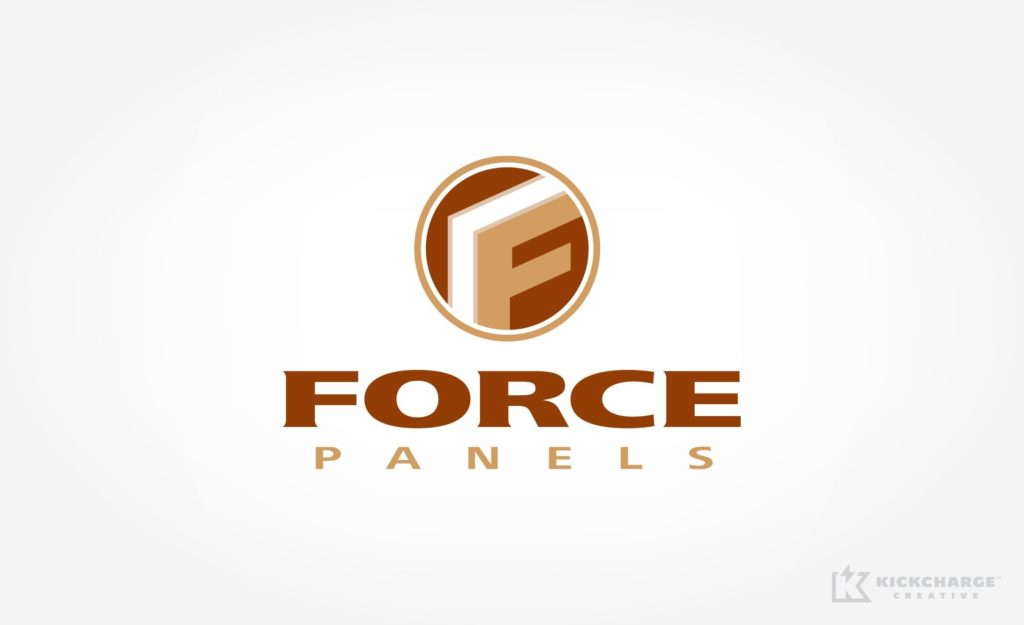 Logo design for a manufacturer of structured building panels in North Dakota.