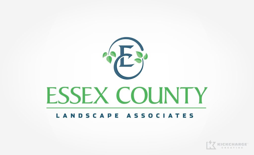 Logo design for Essex County Landscape Associates.