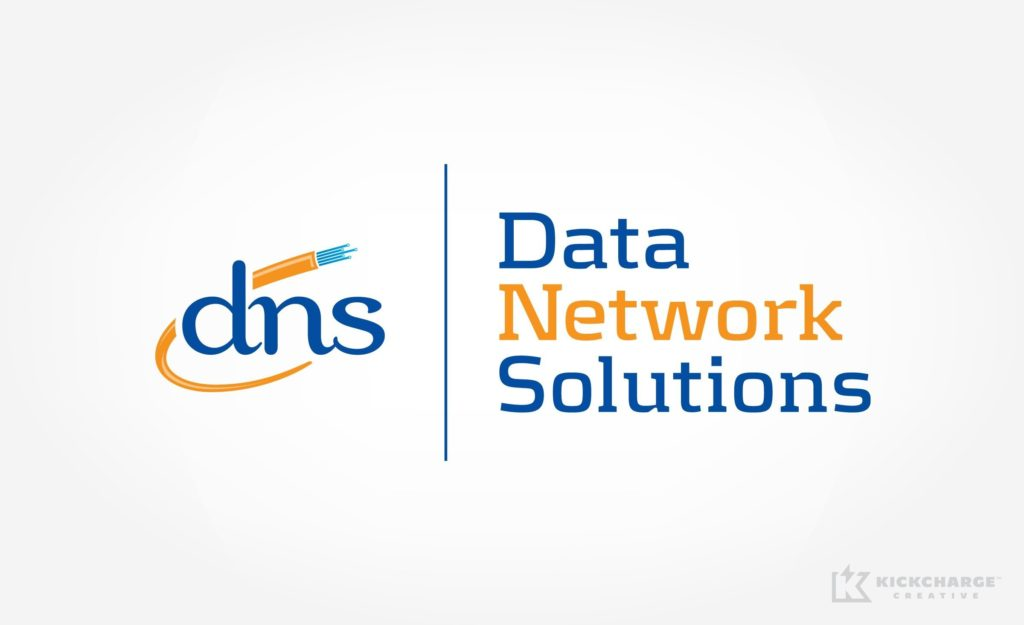 Logo design for Data Network Solutions.