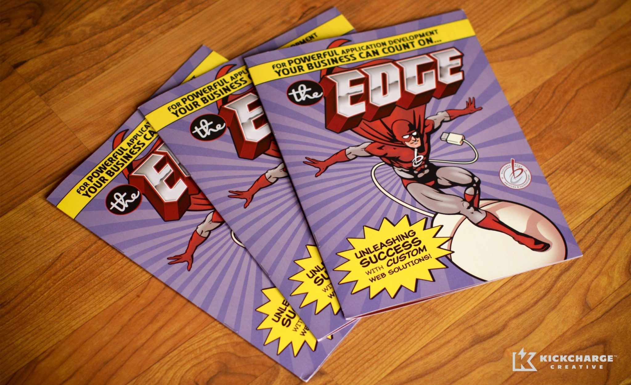 Full color brochure for Business Edge.