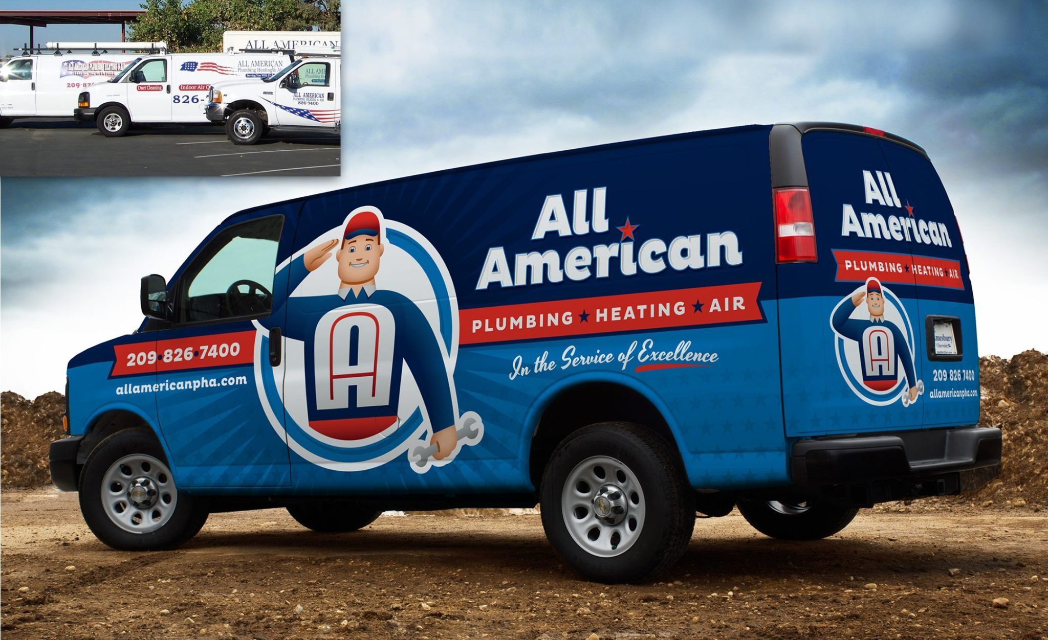 all american plumbing heating air