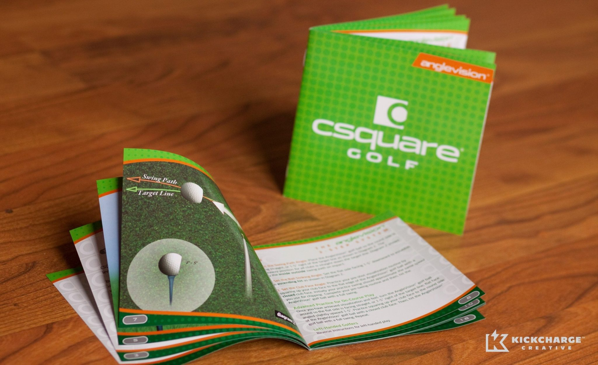 Instruction manual for CSquare Golf.
